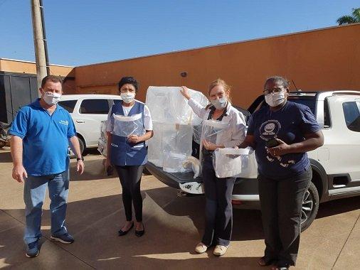 Rotary de Olímpia entrega equipamentos para Hospital de Amor