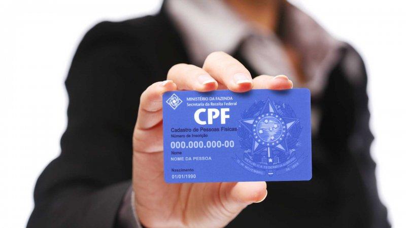 Consulta do CPF pode ser feita online