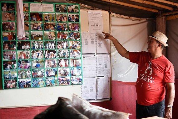 Associação de produtores orgânicos apoia sem-terra acampados em Barretos