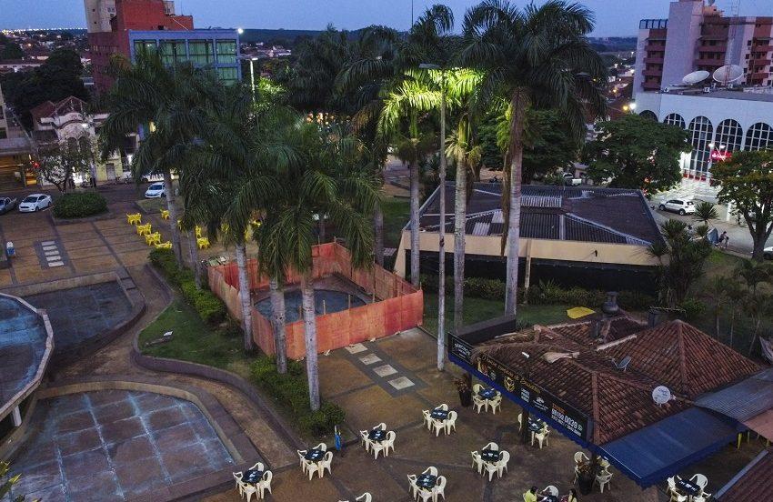 Iniciada reforma na Praça Francisco Barreto