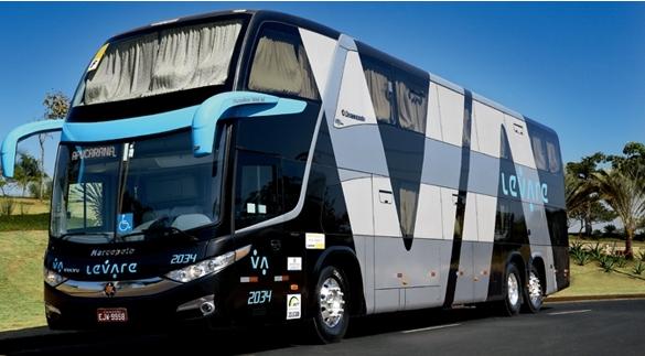 Ônibus de luxo é uma nova opção de transporte partindo de Barretos para SP
