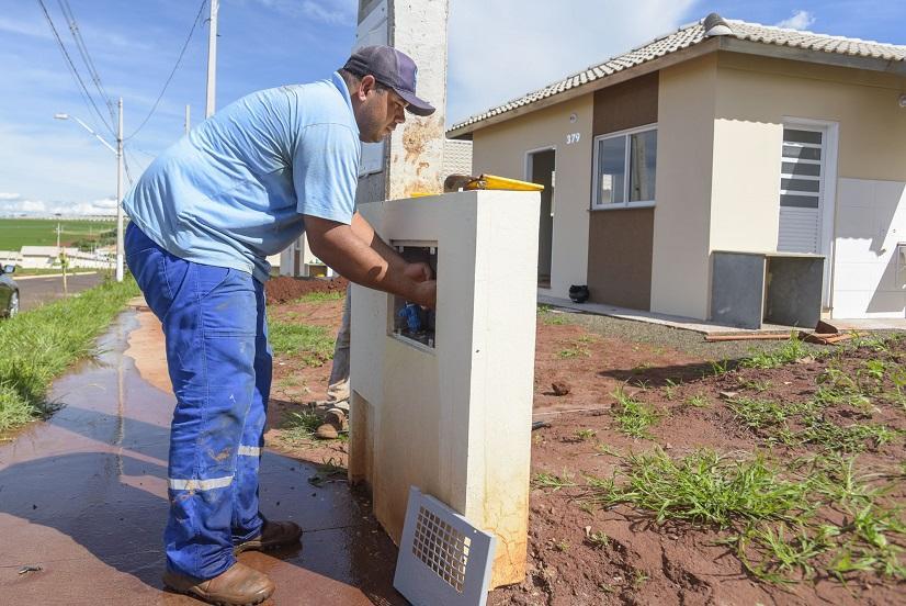 SAAE faz 53 ligações de água em apenas dois dias no Conjunto Nova Barretos 3
