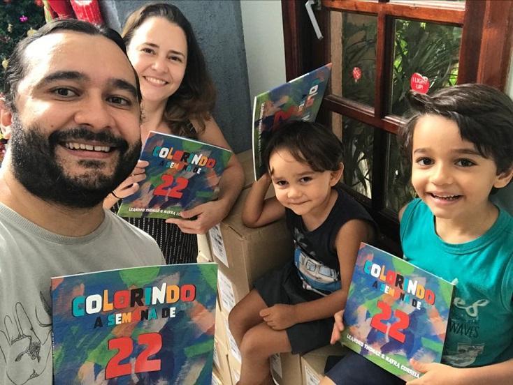 Casal de escritores lança livro infanto-juvenil sobre a Semana Moderna de 22