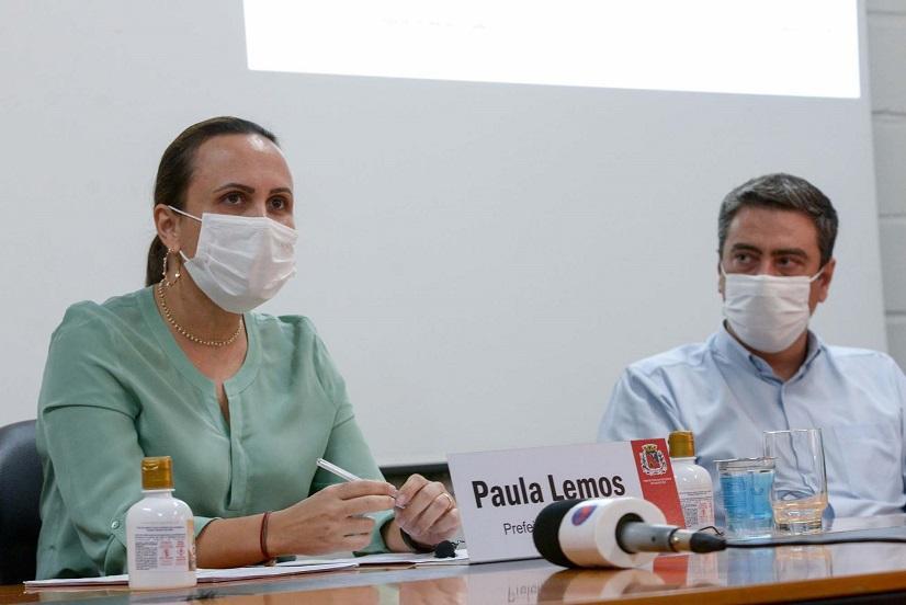 Paula Lemos se dedica à ampliação de leitos e mais compra de medicamentos