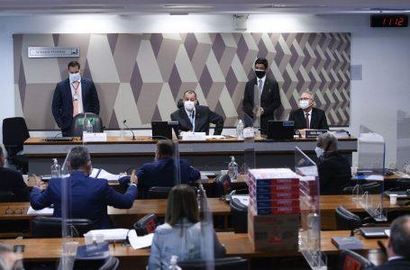Relatório final da CPI da Pandemia foi apresentado no Senado nesta quarta-feira. Foto: Edilson Rodrigues/Agência Senado